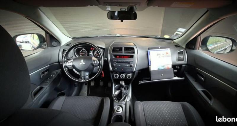 Mitsubishi ASX 1.8 DI-D Invite 4x4 150 CH ATTELAGE 4WD Noir occasion à Francin - photo n°5