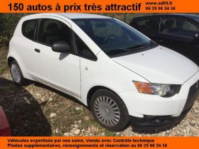 Mitsubishi Colt Blanc, garage VOITURE PAS CHERE RHONE ALPES à Saint-Bonnet-de-Mure