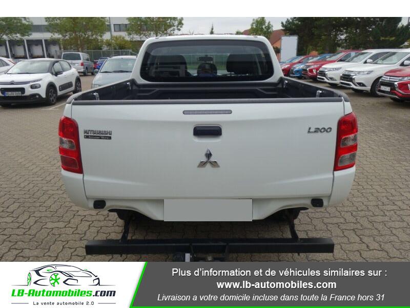 Mitsubishi L200 2.2 DI-D 154 ch Blanc occasion à Beaupuy - photo n°11