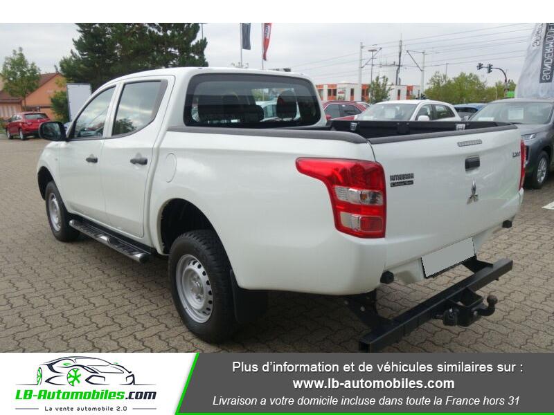 Mitsubishi L200 2.2 DI-D 154 ch Blanc occasion à Beaupuy - photo n°3