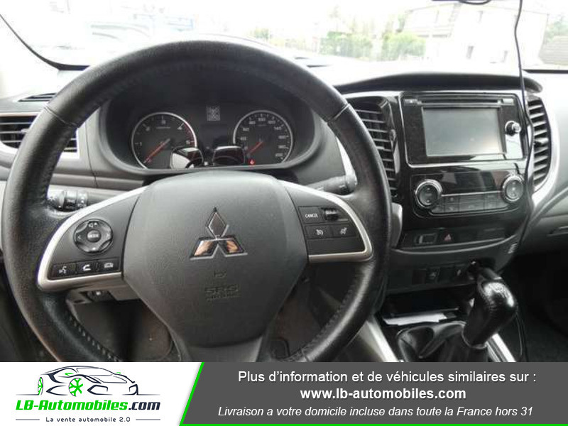 Mitsubishi L200 2.4 DI-D 181ch Double Cab Gris occasion à Beaupuy - photo n°2