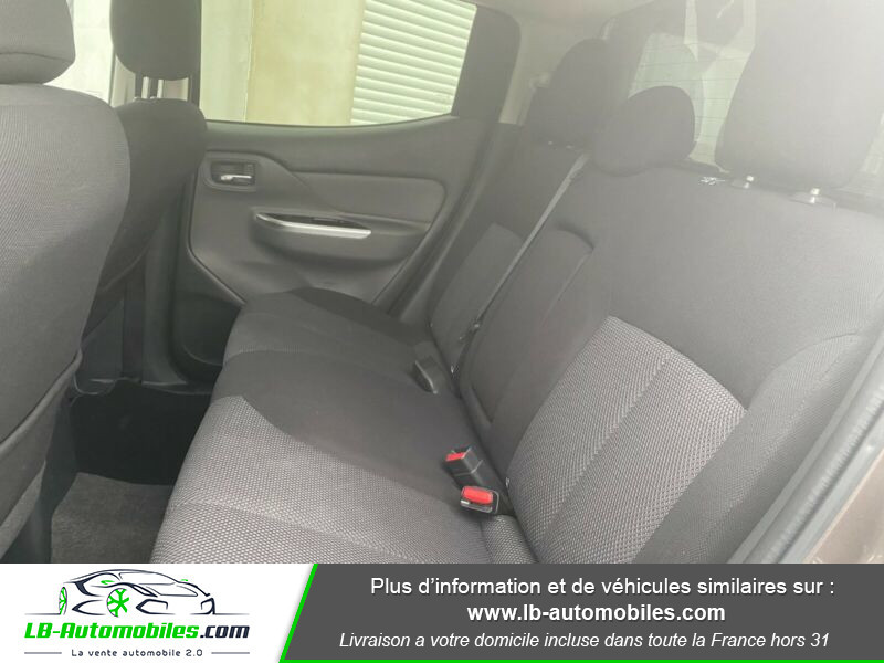 Mitsubishi L200 2.4 DI-D 181ch Double Cab Gris occasion à Beaupuy - photo n°5