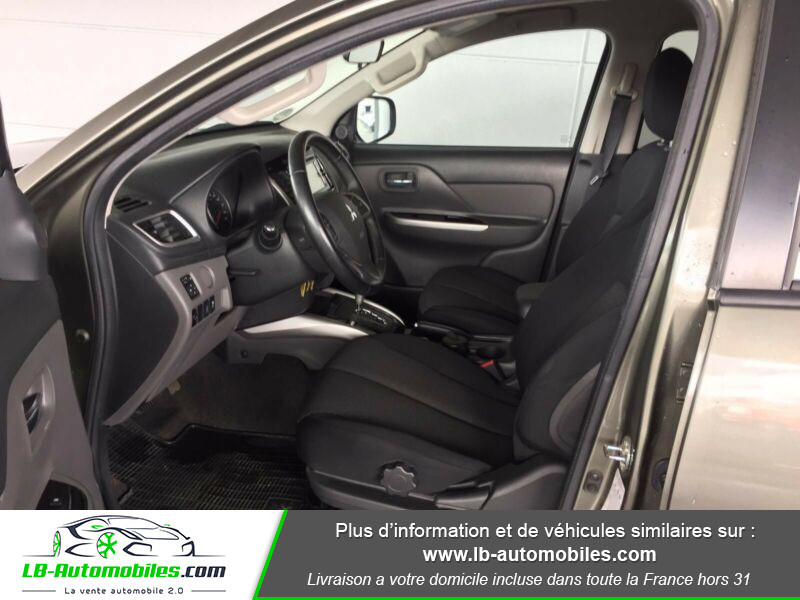 Mitsubishi L200 2.4 DI-D 181ch Double Cab Vert occasion à Beaupuy - photo n°9