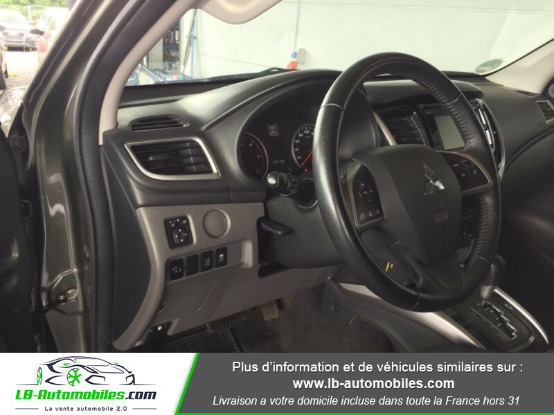 Mitsubishi L200 2.4 DI-D 181ch Double Cab Vert occasion à Beaupuy - photo n°10