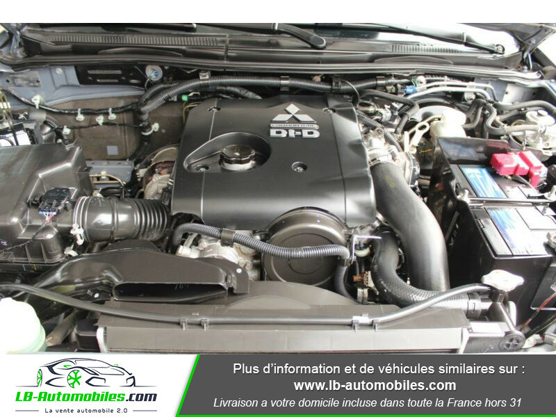 Mitsubishi L200 2.5 TD 178 DBLE CAB Gris occasion à Beaupuy - photo n°5