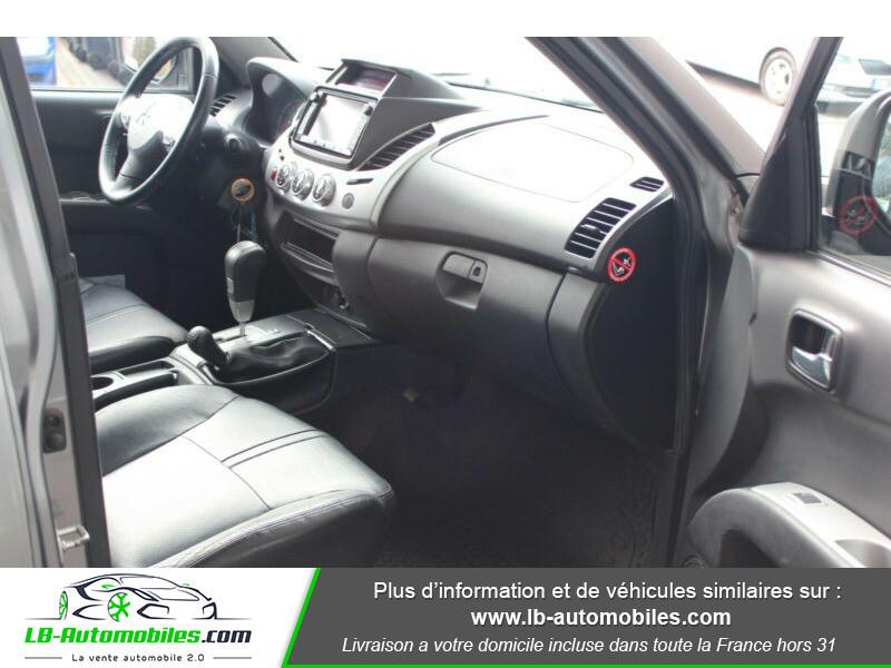 Mitsubishi L200 2.5 TD 178 DBLE CAB Gris occasion à Beaupuy - photo n°9
