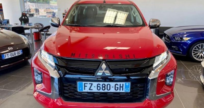 Mitsubishi L200 CLUB CAB 2.2 DI-D 150 4WD INSTYLE 2p Rouge occasion à Saint Vincent De Boisset - photo n°3