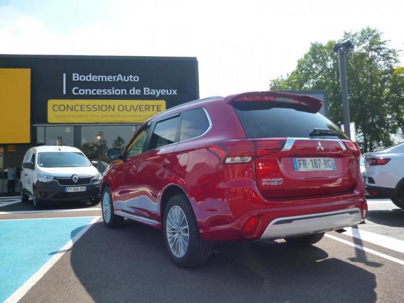 Mitsubishi Outlander 2.4l Twin Motor 4WD Rouge occasion à BAYEUX - photo n°4