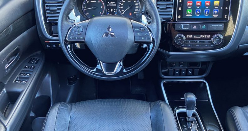 Mitsubishi Outlander DI-D 150 Black Collection 4WD BVA 7 pl Gris occasion à EPAGNY - photo n°6