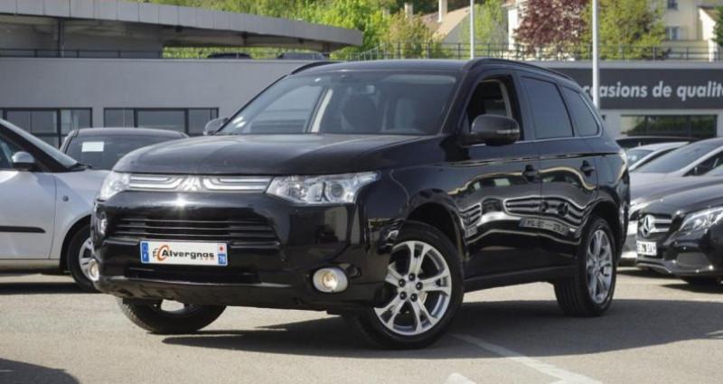Mitsubishi Outlander III 2.2 DI-D 150 INVITE 4WD Noir occasion à Chambourcy