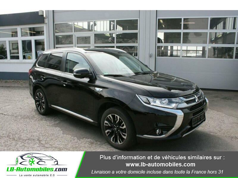 Mitsubishi Outlander Intens Hybrid plug-in 2.0 4wd Noir occasion à Beaupuy - photo n°7