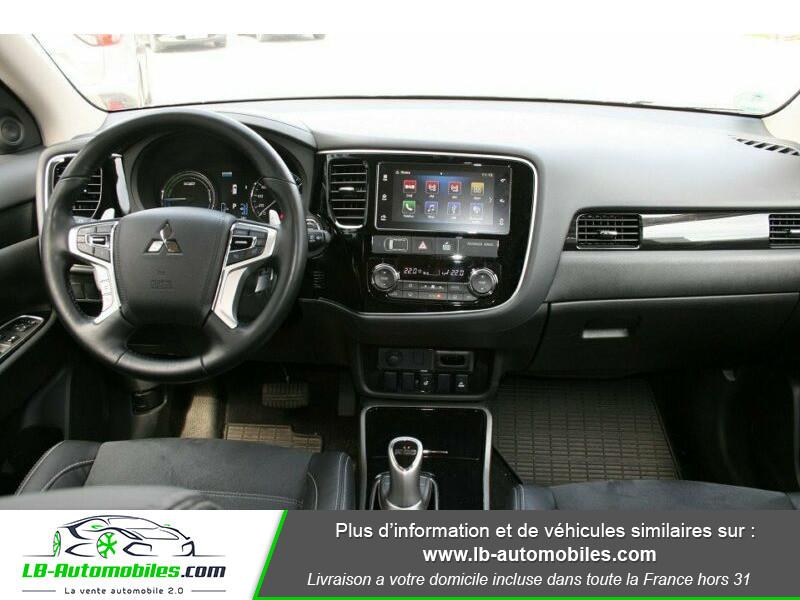 Mitsubishi Outlander Intens Hybrid plug-in 2.0 4wd Noir occasion à Beaupuy - photo n°4