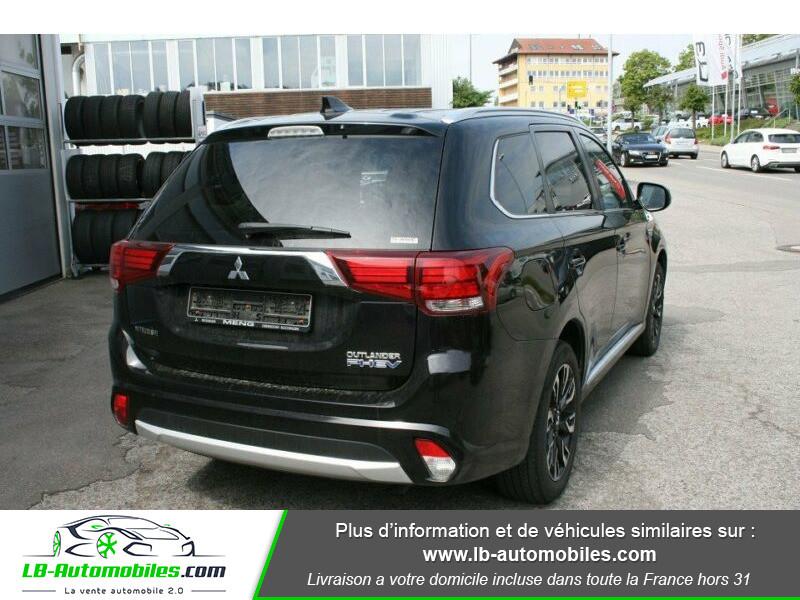 Mitsubishi Outlander Intens Hybrid plug-in 2.0 4wd Noir occasion à Beaupuy - photo n°5