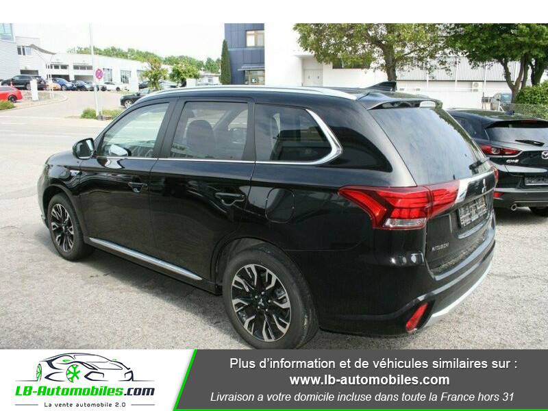 Mitsubishi Outlander Intens Hybrid plug-in 2.0 4wd Noir occasion à Beaupuy - photo n°3