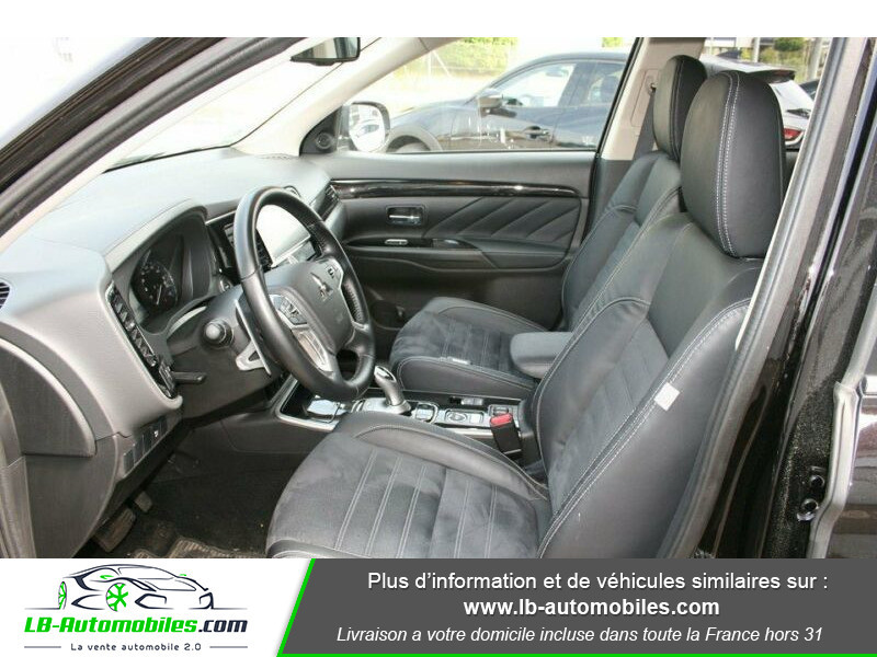 Mitsubishi Outlander Intens Hybrid plug-in 2.0 4wd Noir occasion à Beaupuy - photo n°2