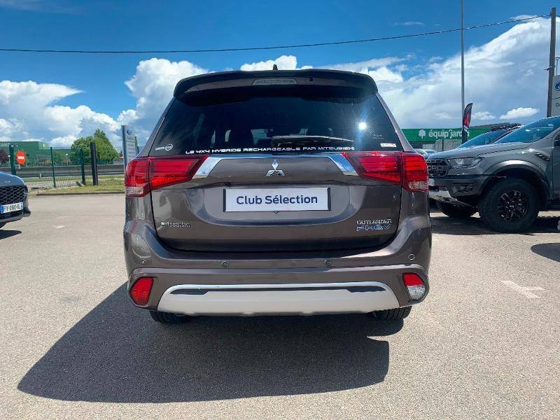 Mitsubishi Outlander PHEV Twin Motor Instyle 4WD Marron occasion à Olivet - photo n°5