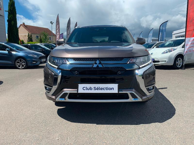 Mitsubishi Outlander PHEV Twin Motor Instyle 4WD Marron occasion à Olivet - photo n°2