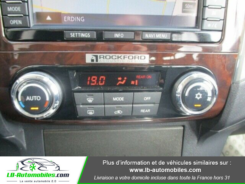 Mitsubishi Pajero 3.2 DI-D 190 INSTYLE BVA Blanc occasion à Beaupuy - photo n°9