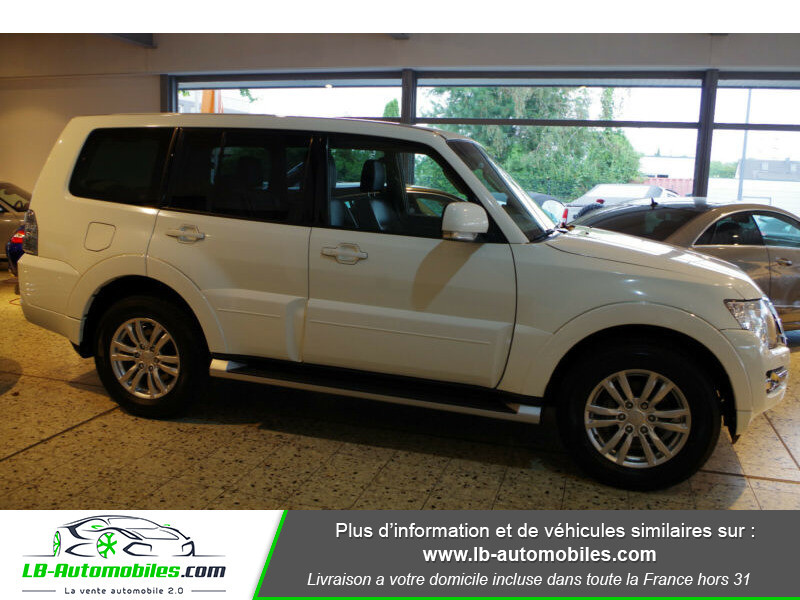 Mitsubishi Pajero 3.2 DI-D Blanc occasion à Beaupuy - photo n°8