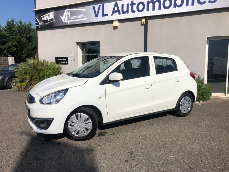 Mitsubishi Space Star 1.0 MIVEC 71CH 2019 Blanc occasion à Colomiers - photo n°2