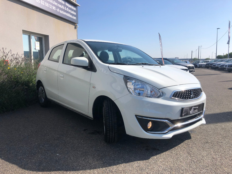 Mitsubishi Space Star 1.0 MIVEC 71CH 2019 Blanc occasion à Colomiers - photo n°3