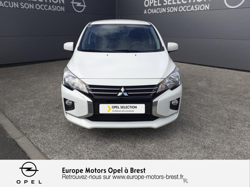 Mitsubishi Space Star 1.0 MIVEC 71ch In 2020 Argent occasion à Brest - photo n°2