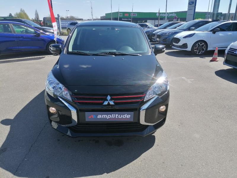 Mitsubishi Space Star 1.2 MIVEC 70ch Red Line EDITION Noir occasion à Olivet - photo n°9