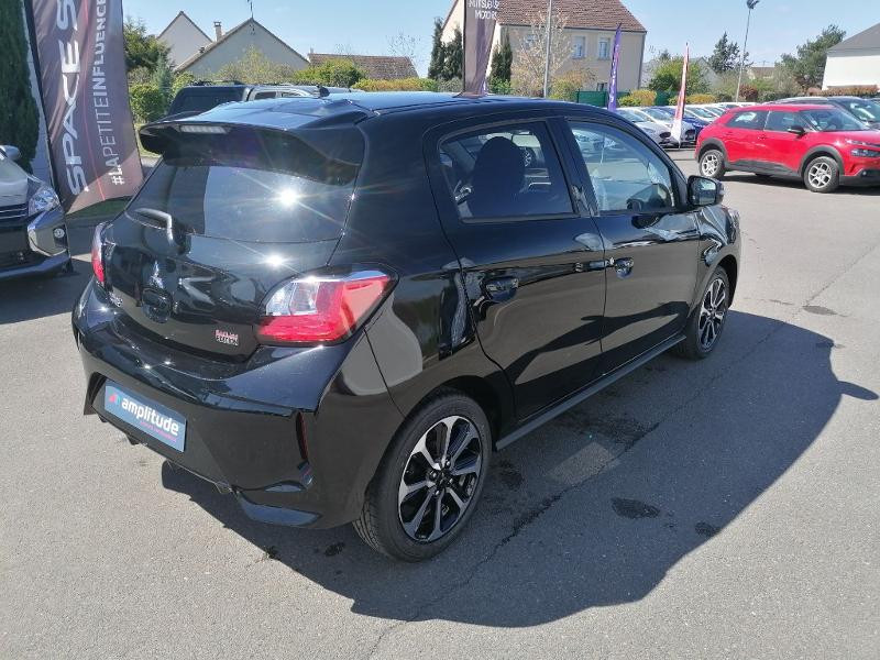Mitsubishi Space Star 1.2 MIVEC 70ch Red Line EDITION Noir occasion à Olivet - photo n°2