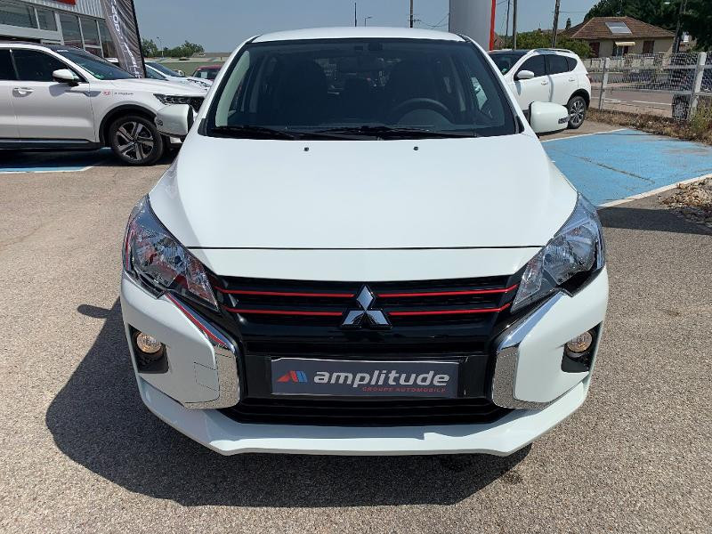 Mitsubishi Space Star 1.2 MIVEC 71ch Red Line EDITION CVT 2021 Blanc occasion à Auxerre - photo n°7