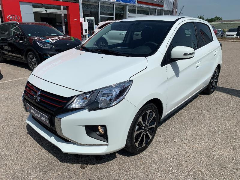 Mitsubishi Space Star 1.2 MIVEC 71ch Red Line EDITION CVT 2021 Blanc occasion à Auxerre