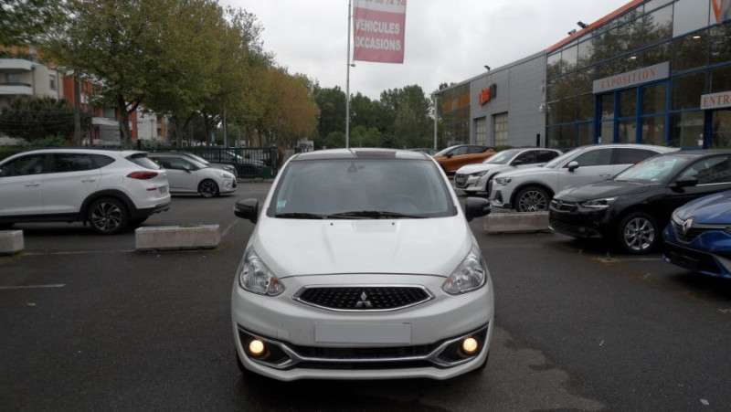 Mitsubishi Space Star 1.2 Mivec 80 Black Collection Blanc occasion à Toulouse - photo n°2