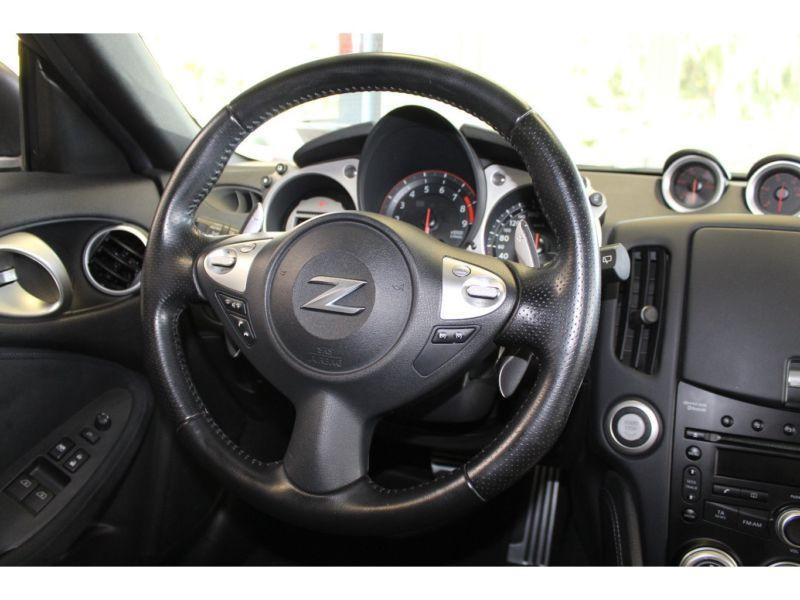 Nissan 370 Z 3.7 V6 328 Coupé Noir occasion à Beaupuy - photo n°2