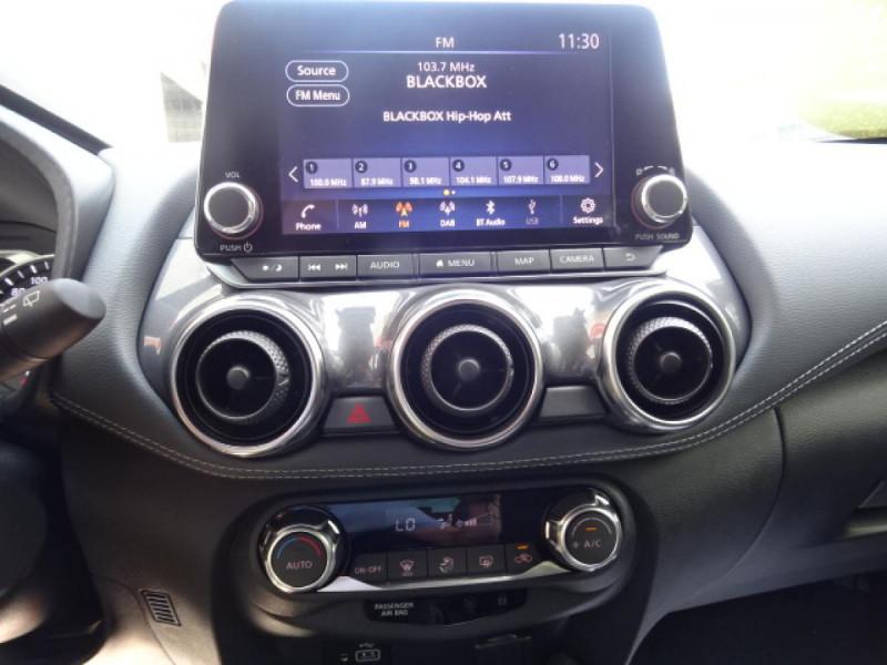 Nissan Juke 1.0 DIG-T - 114 - BV DCT Stop/Start 2021  II 2019 N-Connecta Noir occasion à Mérignac - photo n°18