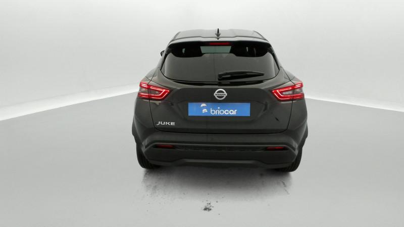Nissan Juke 1.0 DIG-T 114ch N-Connecta +GPS Noir occasion à SAINT-GREGOIRE - photo n°4