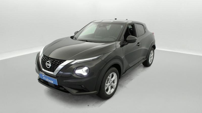 Nissan Juke 1.0 DIG-T 114ch N-Connecta +GPS Noir occasion à SAINT-GREGOIRE