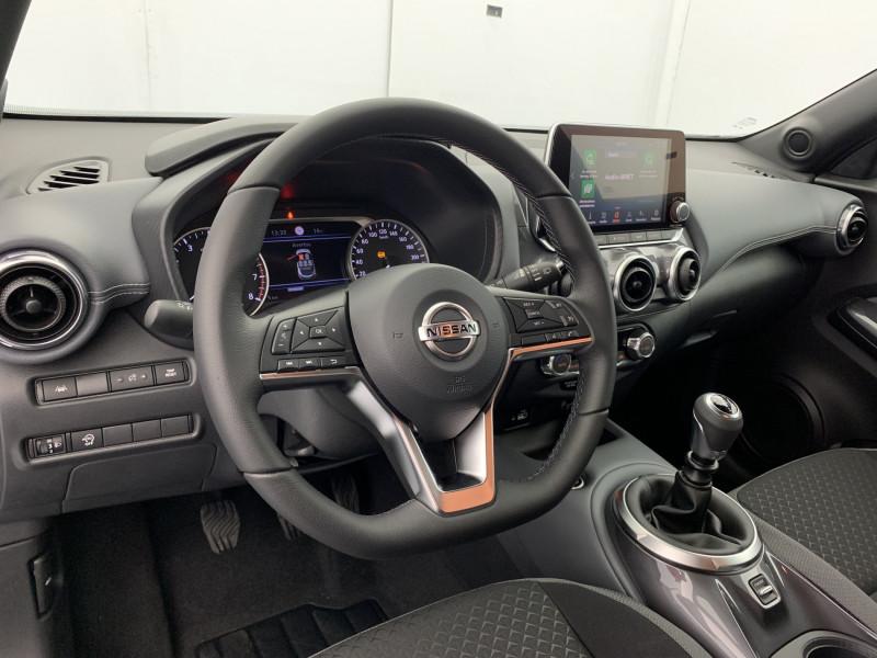 Nissan Juke 1.0 DIG-T 114ch N-Connecta +GPS Noir occasion à SAINT-GREGOIRE - photo n°10