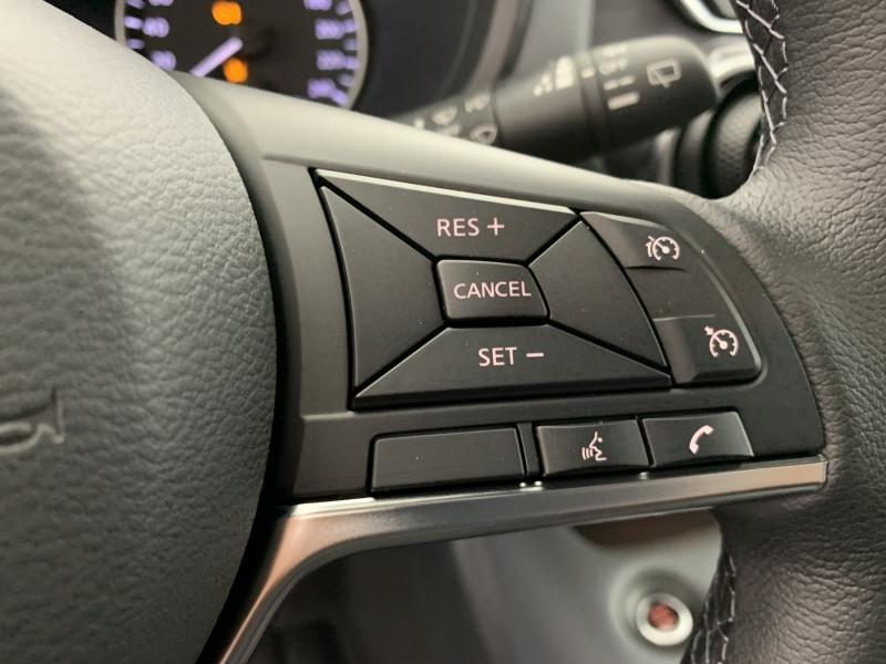 Nissan Juke 1.0 DIG-T 114ch N-Connecta +GPS Noir occasion à SAINT-GREGOIRE - photo n°16