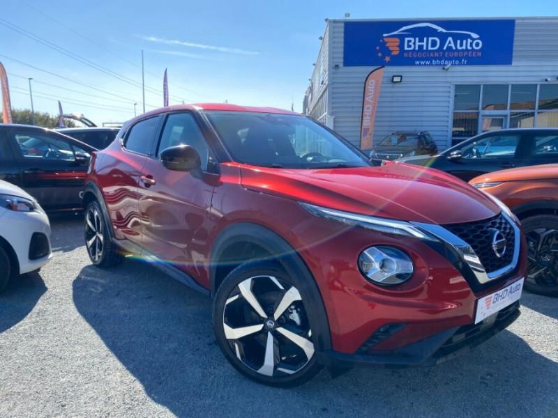 Nissan Juke occasion 2020 mise en vente à Biganos par le garage BHD AUTO - photo n°1