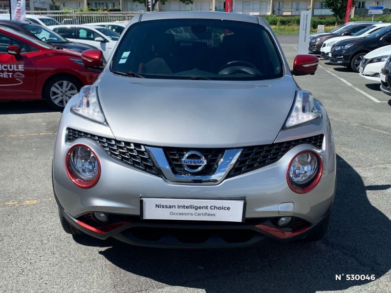 Nissan Juke 1.2 DIG-T 115ch Connect Edition Gris occasion à Senlis - photo n°2