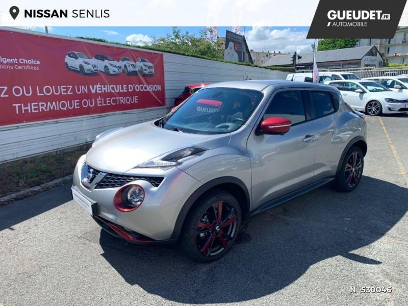 Nissan Juke 1.2 DIG-T 115ch Connect Edition Gris occasion à Senlis