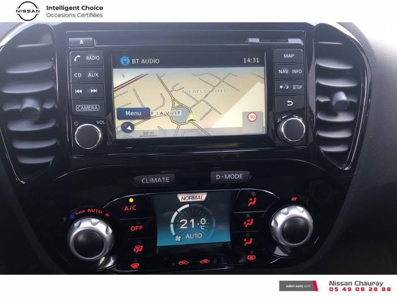 Nissan Juke 1.5 dCi 110 FAP EU6.c Start/Stop System N-Connecta Blanc occasion à Chauray - photo n°11
