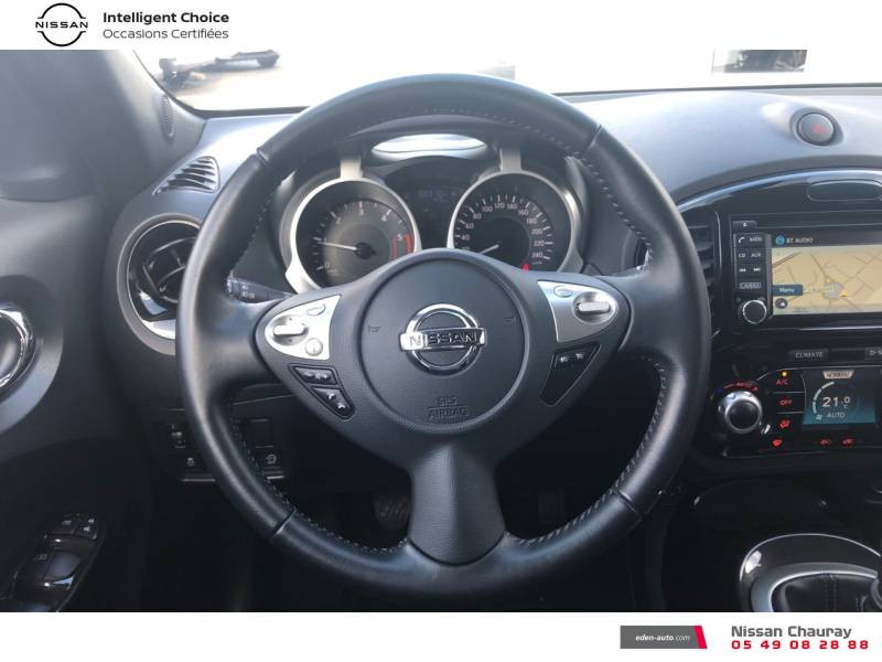 Nissan Juke 1.5 dCi 110 FAP EU6.c Start/Stop System N-Connecta Blanc occasion à Chauray - photo n°10