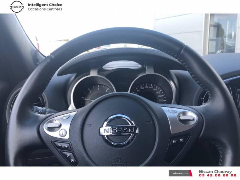 Nissan Juke 1.5 dCi 110 FAP EU6.c Start/Stop System N-Connecta Blanc occasion à Chauray - photo n°12