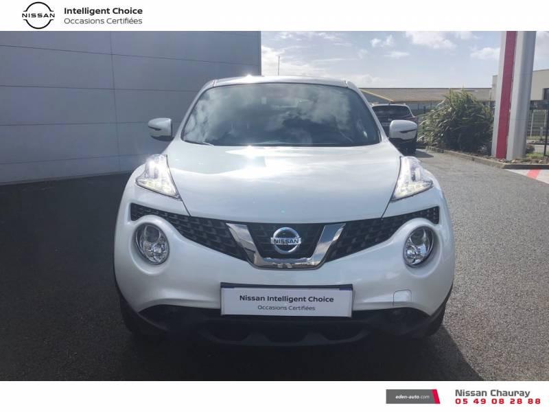 Nissan Juke 1.5 dCi 110 FAP EU6.c Start/Stop System N-Connecta Blanc occasion à Chauray - photo n°2