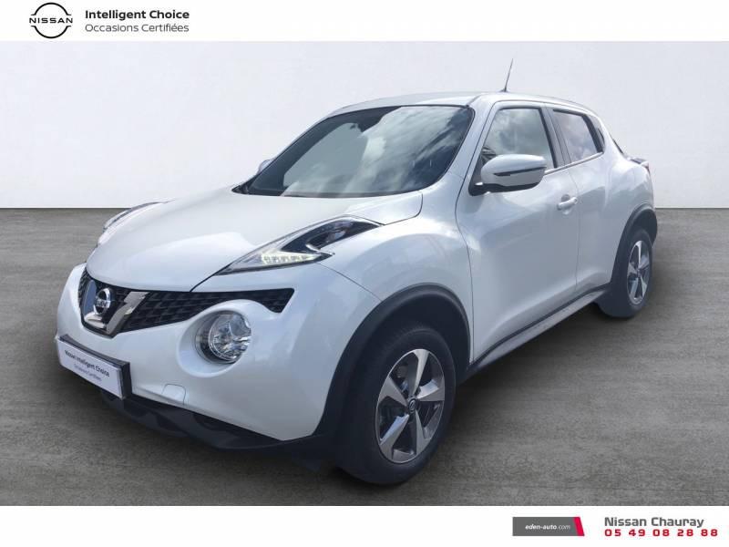 Nissan Juke 1.5 dCi 110 FAP EU6.c Start/Stop System N-Connecta Blanc occasion à Chauray - photo n°1