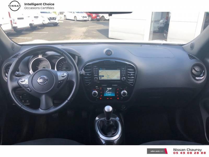 Nissan Juke 1.5 dCi 110 FAP EU6.c Start/Stop System N-Connecta Blanc occasion à Chauray - photo n°9