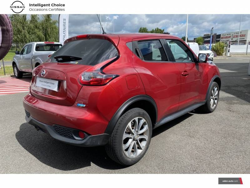 Nissan Juke 1.5 dCi 110 FAP Start/Stop System Connect Edition Rouge occasion à Chauray - photo n°17