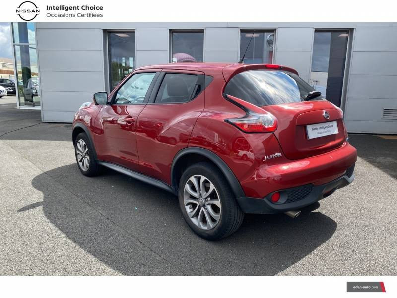Nissan Juke 1.5 dCi 110 FAP Start/Stop System Connect Edition Rouge occasion à Chauray - photo n°7
