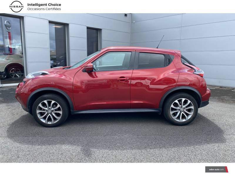 Nissan Juke 1.5 dCi 110 FAP Start/Stop System Connect Edition Rouge occasion à Chauray - photo n°3