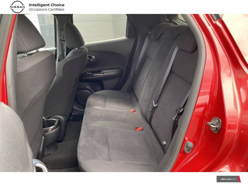 Nissan Juke 1.5 dCi 110 FAP Start/Stop System Connect Edition Rouge occasion à Chauray - photo n°14